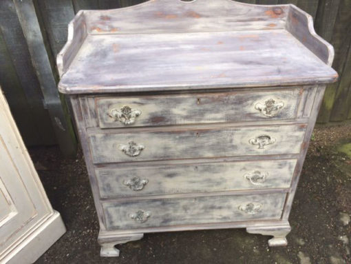 Painted-Chest-Of-Drawers