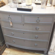 Victorian-Painted-Chest-Of-Drawers