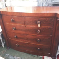 Scottish-Bow-Front-Chest-Of-Drawers