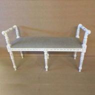 LMFU4-Window-Seat--White-Frame-With-Arms-Grey-Linen_