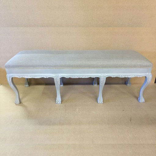 LMFU9-8-Leg-Grey-Frame-Stool-with-Grey-Linen_