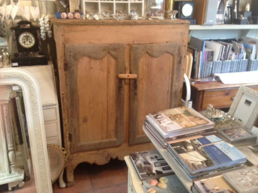 LMCC2-C19th-French-Oak Pine-Cupboard
