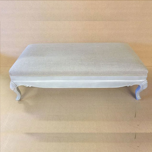 LMFU20-Carved-Grey-Leg-Stool-With-Grey_Linen