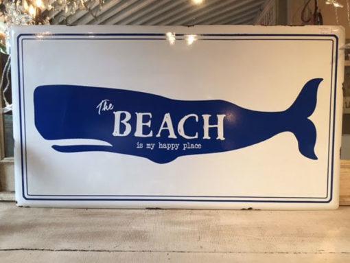 LMIS-Whale-Beach-Metal-Wall-Art