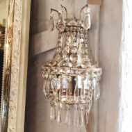 LML4-French-Vintage-Crystal-Wall-Light