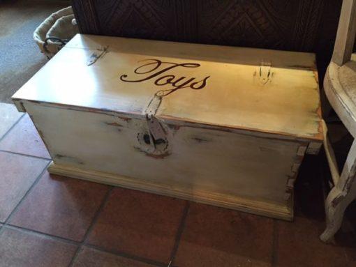 LMST3 Wooden Toy Box