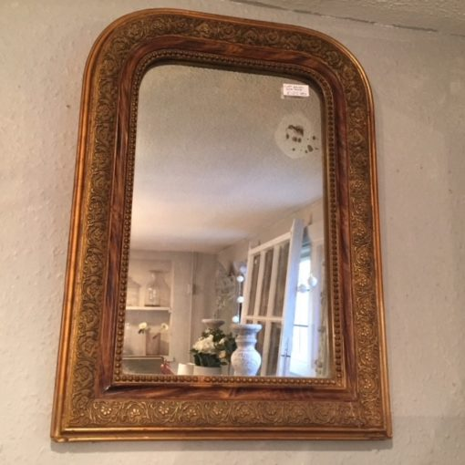 C19th French Gilt Mirror LMMV11