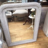 C19th French Painted Mirror LMMV18