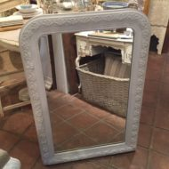 C19th French Painted Mirror LMMV19
