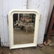 C19th French Painted Mirror LMMV20