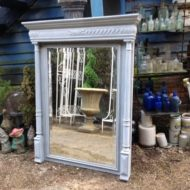 French Henri Deux Painted Mirror LMMV23