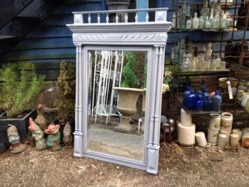 French Henri Deux Painted Mirror LMMV24