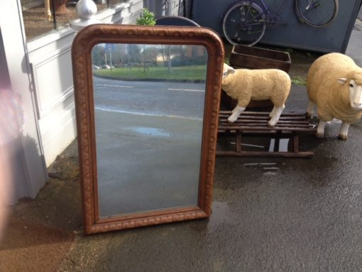 Antique French Wooden Mirror LMMV25