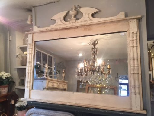 French Overmantle Mirror LMMV26