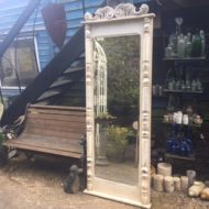 French Painted Dressing Mirror LMMV27