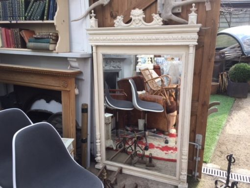 French Henri Deux Painted Mirror LMMV29