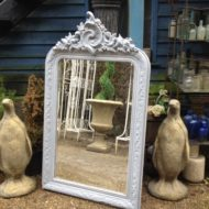 C19th French Painted Mirror LMMV32