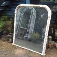 C19th French Painted Mirror LMMV33