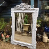 C19th French Painted Mirror LMMV40