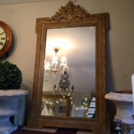 C19th French Gilt Mirror LMMV42