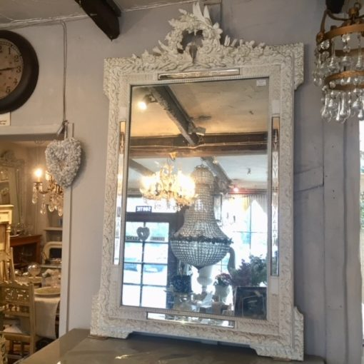 French Painted Mirror LMMV50