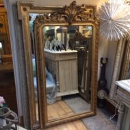 C19th French Gilt Mirror LMMMV54