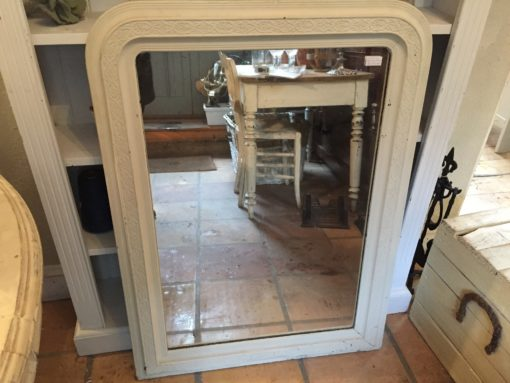 C19th French Painted Mirror LMMV61