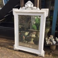 LMMV8 C19th French Painted Mirror