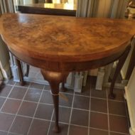 Walnut Demi Lune Table LMT5
