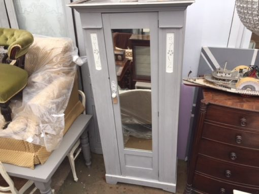 French Painted Wardrobe LMBD16