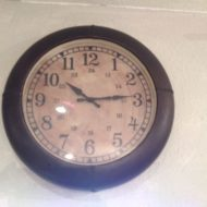 Leather Clock LMIC5