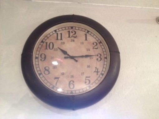 Leather Clock LMIC5