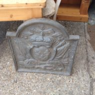 Cast Iron Fire Back LMIF8