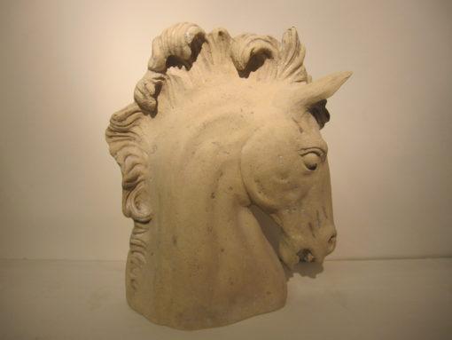 Horse Head Roman Stone LMIK7
