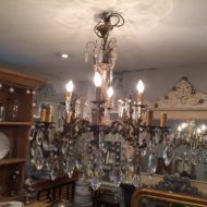 C19th French Bronze Chandelier LML14