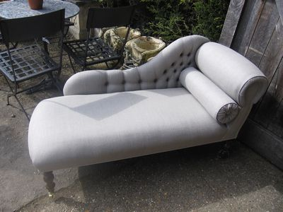 Linen Chaise LMSE8