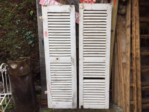 French Wooden Shutters LMV10