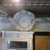 C19th Plaster Wall Plaque From Paris LMV13