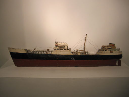 Original Tin Cargo Vessel LMV15